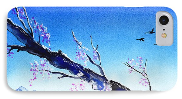 Spring In The Mountains IPhone 7 Case by Irina Sztukowski
