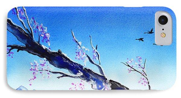 Spring In The Mountains IPhone Case by Irina Sztukowski