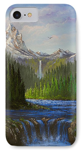 Spring In The Rockies Phone Case by C Steele