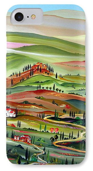 Spring In Val D Orcia Toscana IPhone Case