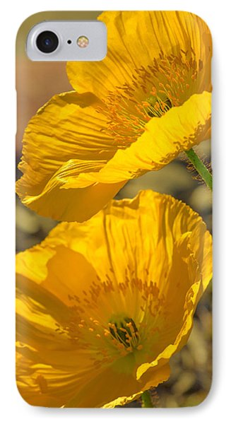 Spring In Yellow Phone Case by Rima Biswas