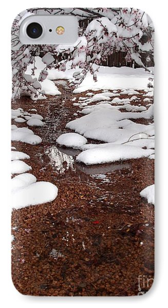 IPhone Case featuring the photograph Spring Into Winter by Kerri Mortenson