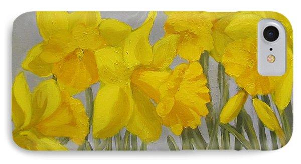 Spring IPhone Case by Karen Ilari