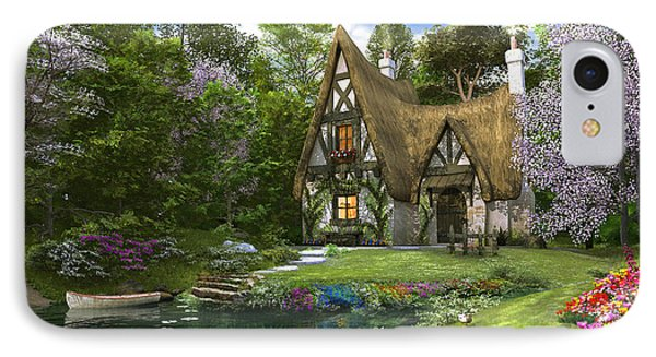 Spring Lake Cottage IPhone Case
