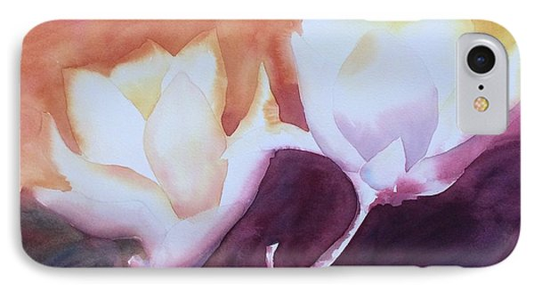 Spring Magnolias IPhone Case by Barbara Tibbets