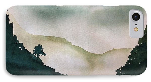 Spring Mist IPhone Case by Barbara Tibbets