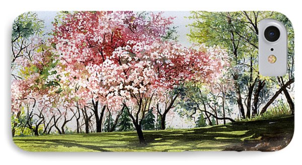 Spring Morning IPhone Case by Barbara Jewell
