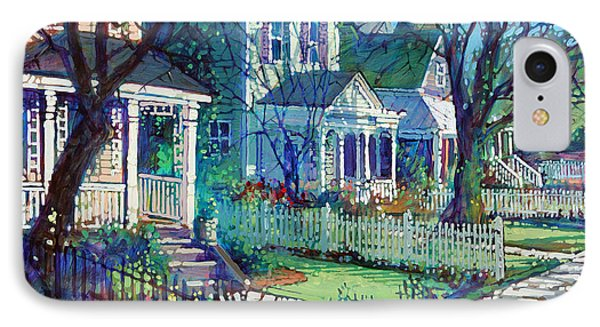 Spring Morning On East Street IPhone Case