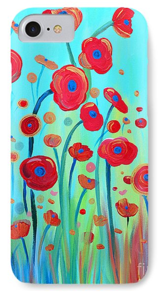IPhone Case featuring the painting Spring Musings by Stacey Zimmerman