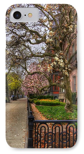 Spring On Commonwealth Avenue - Boston IPhone Case