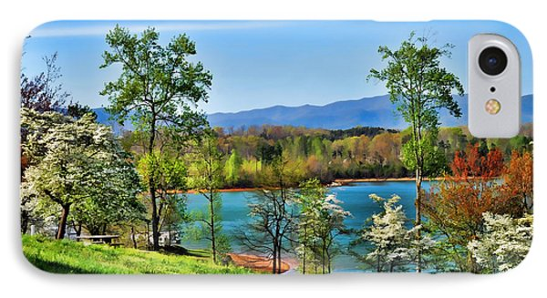 Spring On The Lake IPhone Case by Kenny Francis