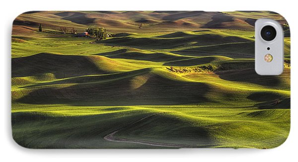 Spring On The Palouse IPhone Case by Mark Kiver