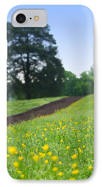 Spring Path At Victor Ashe Park IPhone Case by Melinda Fawver