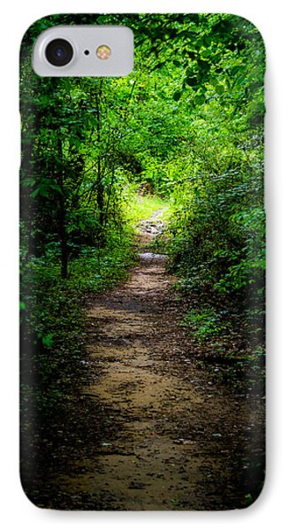 Spring Path To The Light IPhone Case by Shelby  Young