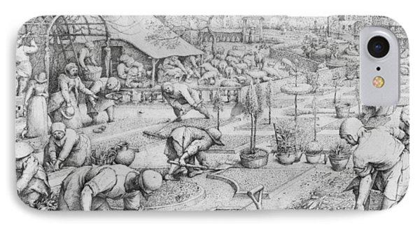 Spring IPhone Case by Pieter the Elder Bruegel