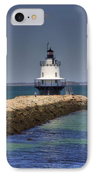 Spring Point Ledge Light IPhone Case