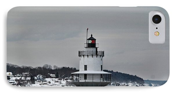 Spring Point Ledge Light_9969 IPhone Case by Joseph Marquis