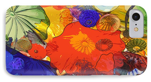 IPhone Case featuring the digital art Spring Poppies by Kirt Tisdale