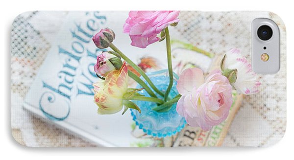 Spring Ranunculus Phone Case by June Marie Sobrito