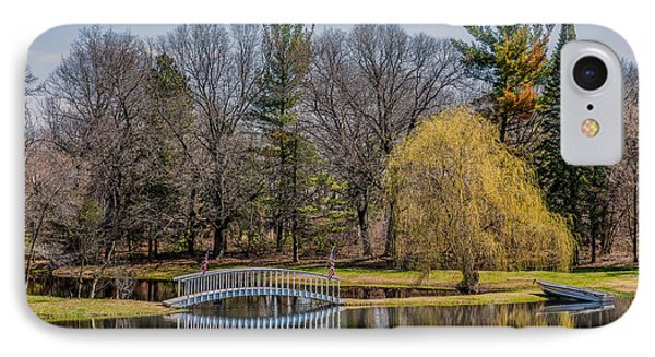 Spring Reflections IPhone Case by Paul Freidlund