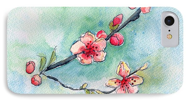 Spring Relief Phone Case by Katherine Miller