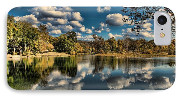 Spring River Autumn IPhone Case by Rick Friedle