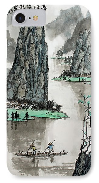 Spring River IPhone Case by Yufeng Wang