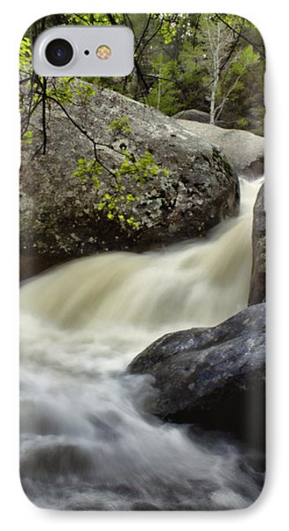 IPhone Case featuring the photograph Spring Runoff by Ellen Heaverlo