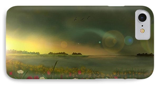 Spring Serenity Phone Case by Steve Hermann