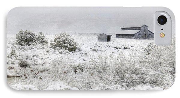 Spring Snow Storm IPhone Case