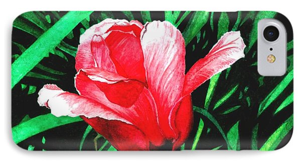IPhone Case featuring the painting Spring Solo by Barbara Jewell