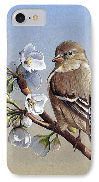 IPhone Case featuring the painting Spring Splendor by Mike Brown