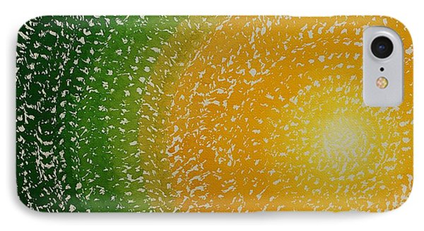 Spring Sun Original Painting IPhone Case by Sol Luckman