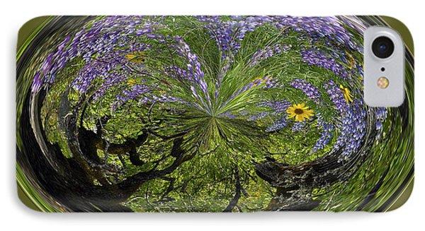 Spring Swirl Phone Case by Jean Noren