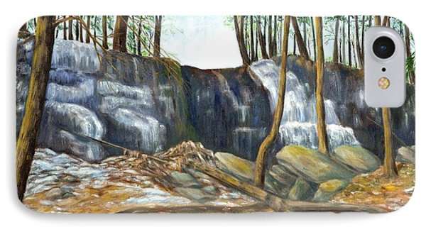 Spring Thaw In The Ravine IPhone Case by Jeanne Kay Juhos
