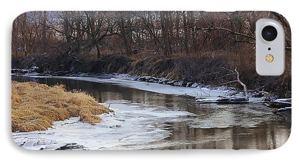 Spring Thaw On The Creek IPhone Case