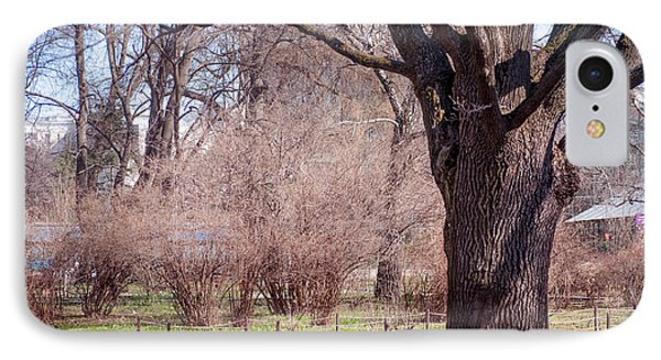 Spring Tree At Soft Rosy Spring In The Garden Phone Case by Jenny Rainbow