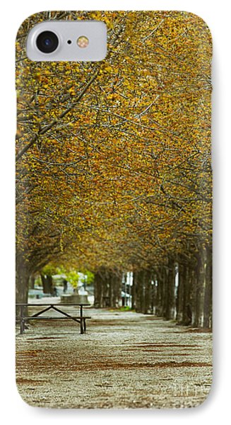 Spring Trees Blossoming In Montreal IPhone Case by Sandra Cunningham