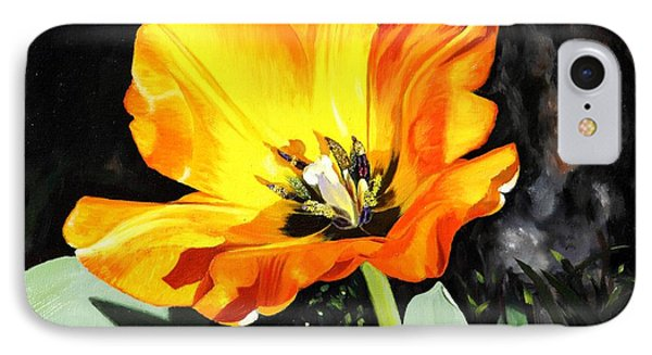 Spring Tulip IPhone Case by Glenn Beasley