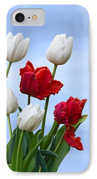 Spring Tulips IPhone Case by Jane McIlroy