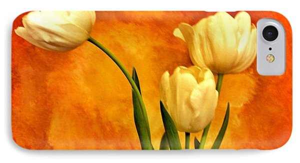 Spring Tulips IPhone Case by Marsha Heiken
