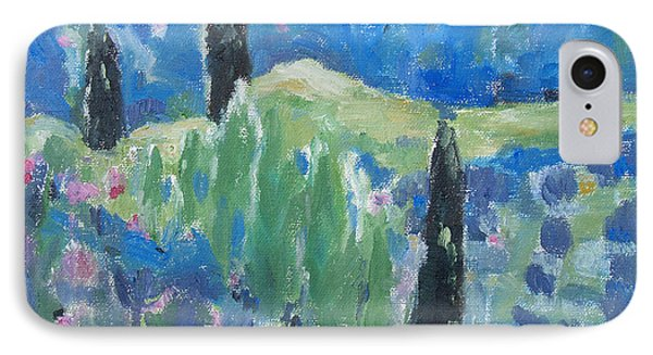 IPhone Case featuring the painting Spring Valley 2 by Becky Kim