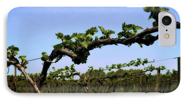 Spring Vineyard Phone Case by Michelle Calkins