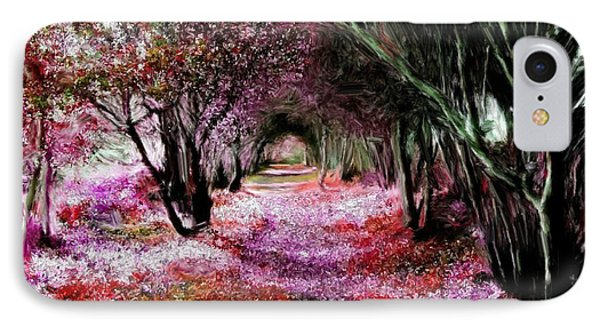 Spring Walk In The Park IPhone Case by Bruce Nutting