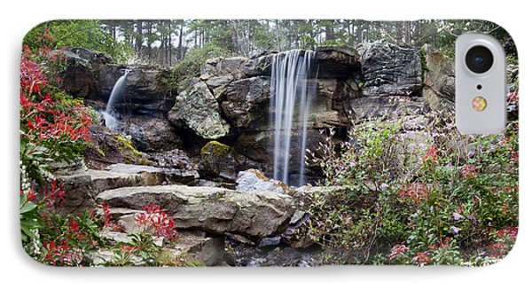 Spring Waterfall IPhone Case by Robert Camp