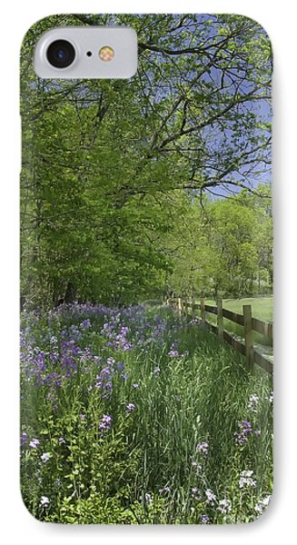 Spring Wildflowers IPhone Case by Michele Steffey