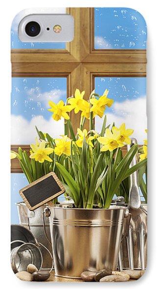 Spring Window Phone Case by Amanda Elwell