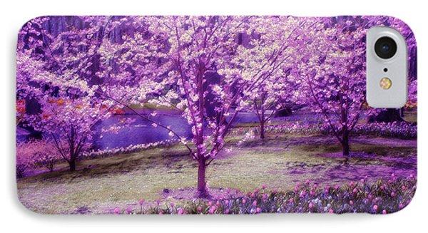Spring Wonderland Pastel. Garden Keukenhof. Netherlands Phone Case by Jenny Rainbow