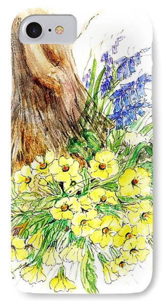 Spring Woodland  IPhone Case by Nell Hill
