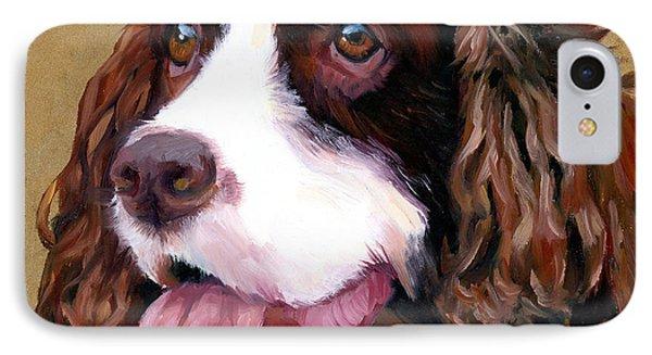Springer Spaniel Dog IPhone Case